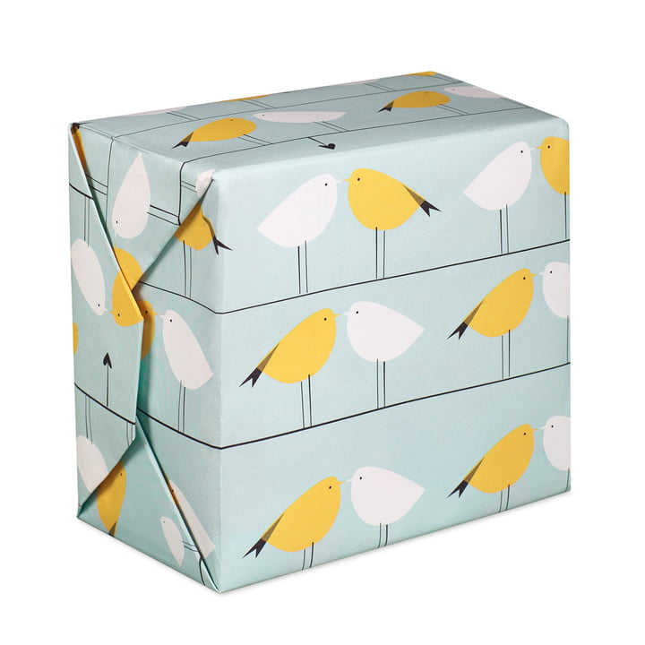 pleased to meet - Birds wrapping paper