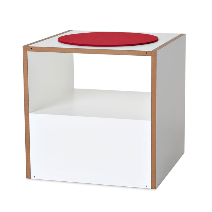 Jonas & Jonas - Dado, MDF, white - without cushion