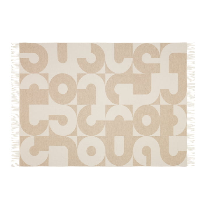 Vitra - Girard Wool Blanket, Circle Sections - front