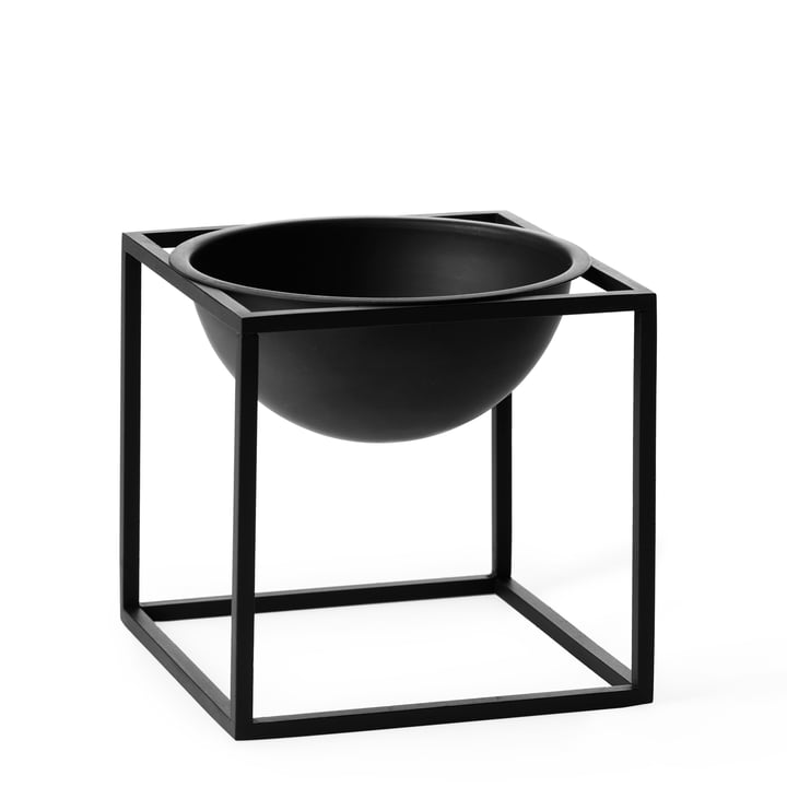 by Lassen - Kubus bowl, small, black