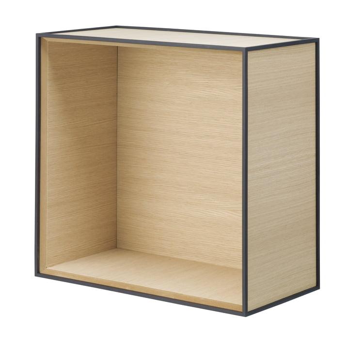 Frame wall cabinet 42 by Lassen made of oak