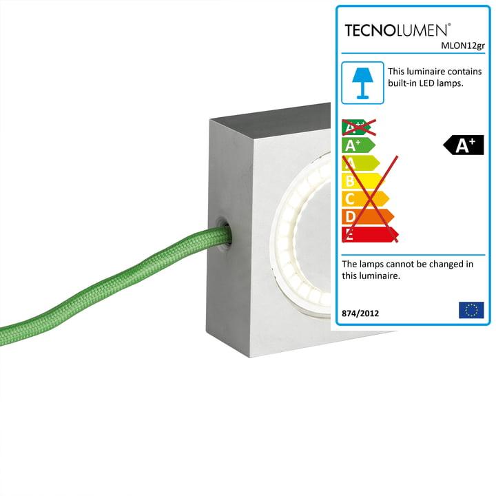 Tecnolumen - Square, green