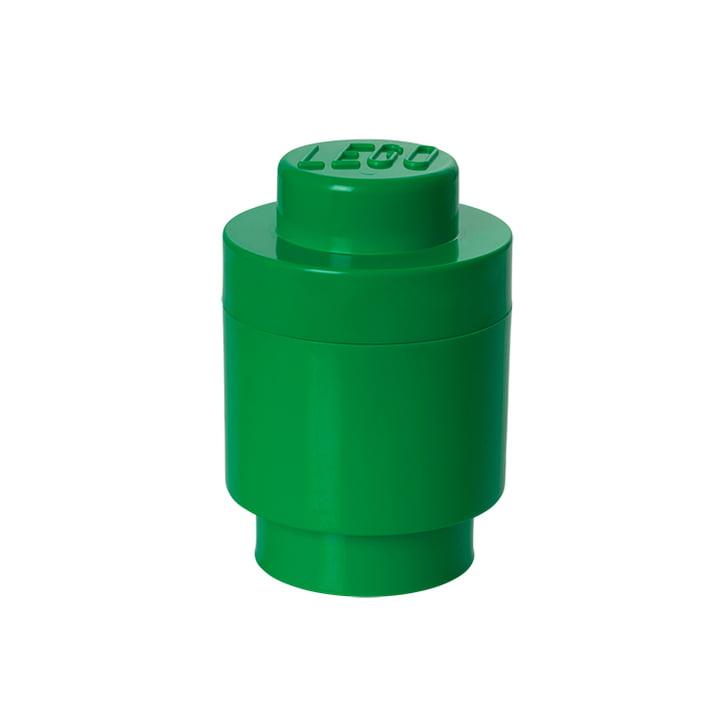 Lego - Storage Brick 1 Round, green