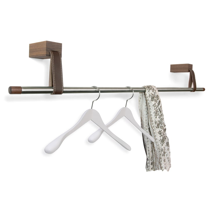 Design im Dorf - Wood & Leather Coat Rack