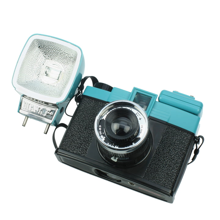 Lomography - Diana F+ - together with flash