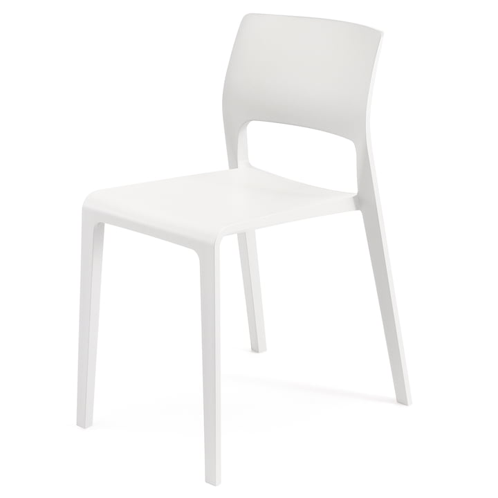 Juno Chair 3600 from Arper in white