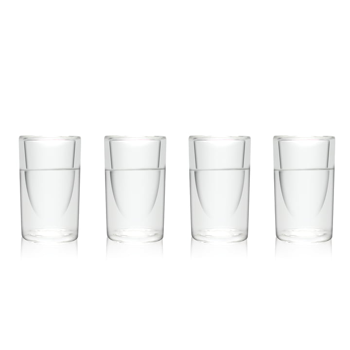 Amsterdam Glass - Shot Glass, 45 ml, set of 4
