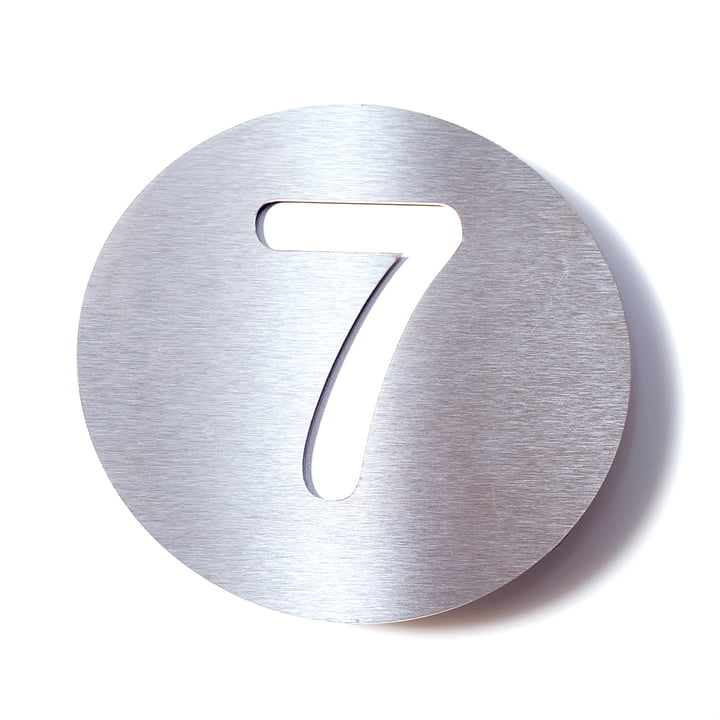 House Number 7 by Radius Design