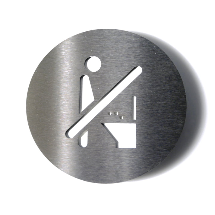 Pictogram No Toilet by Radius Design