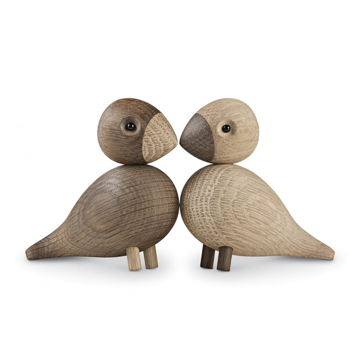 Kay Bojesen - Lovebirds set of 2, wooden birds