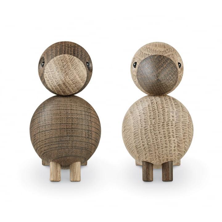 Kay Bojesen - Lovebirds, set of 2, wooden birds
