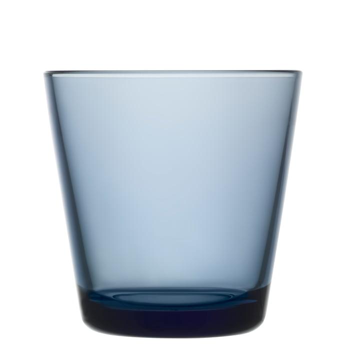 Iittala - Kartio Drinking glass 21 cl, rain blue