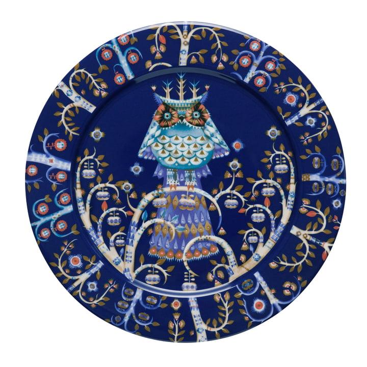 Iittala - Taika Plate flat, blue Ø 27 cm