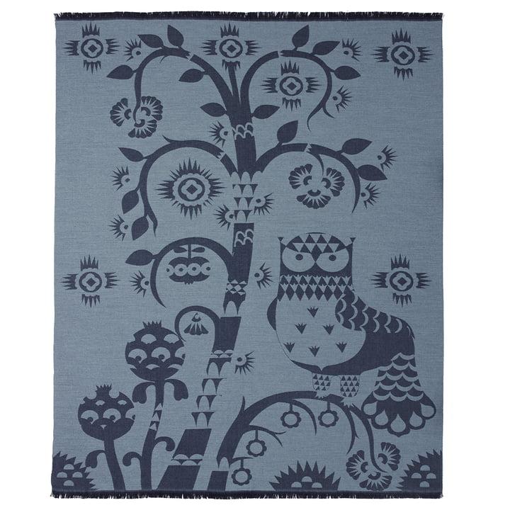 Iittala - Taika Woollen Blanket, blue