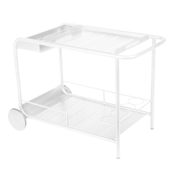 Fermob - Luxembourg Trolley, white
