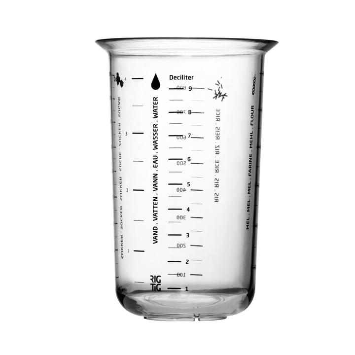The measuring cup, 1L from Rig-Tig by Stelton