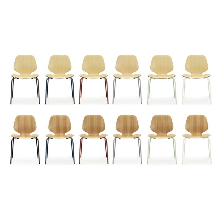 Normann Copenhagen - My Chair, ash, oak - group, colours
