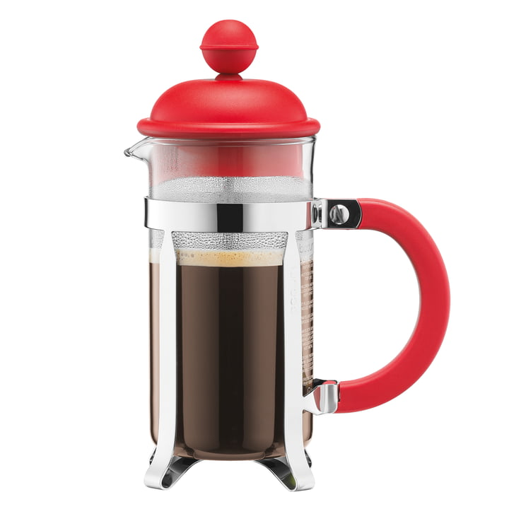 Bodum - Caffettiera Coffee Maker, 1 l, red