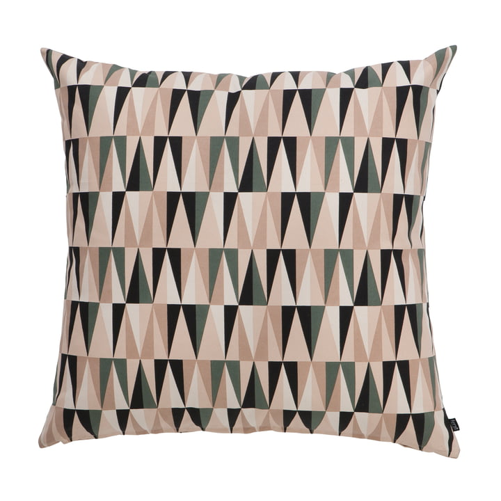 Ferm Living - Spear Floor Cushion, rose, 80x80