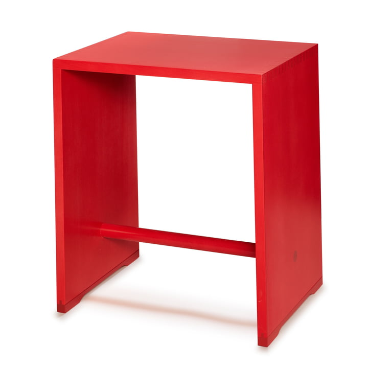 wb form - Ulmer Stool, fire red