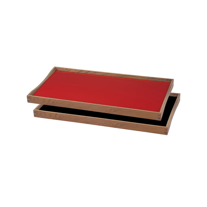 ArchitectMade - Tablett Turning Tray, 23 x 45, red