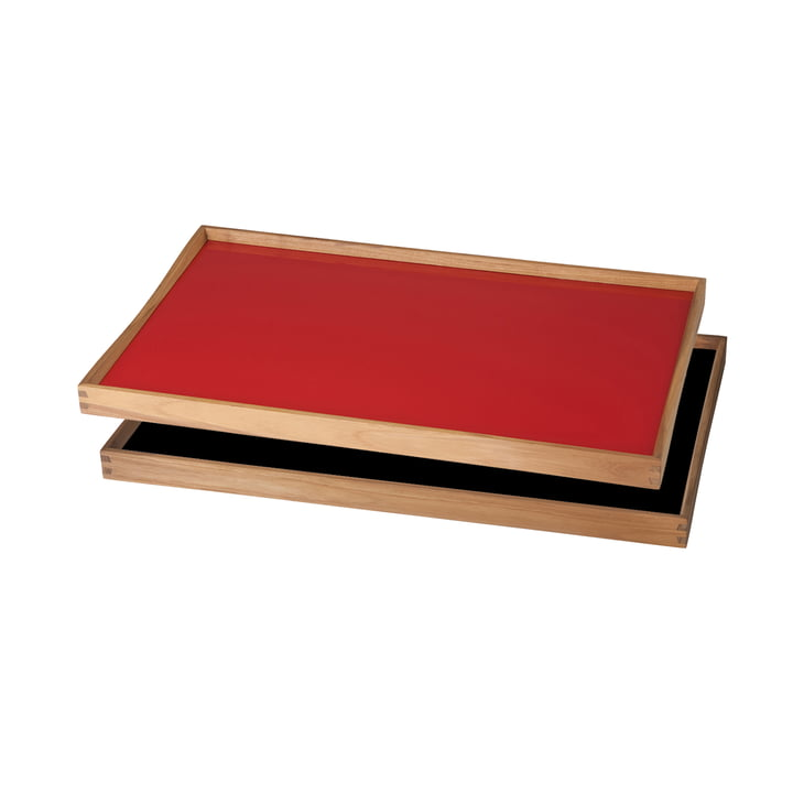 ArchitectMade - Tablett Turning Tray, 30 x 48, red