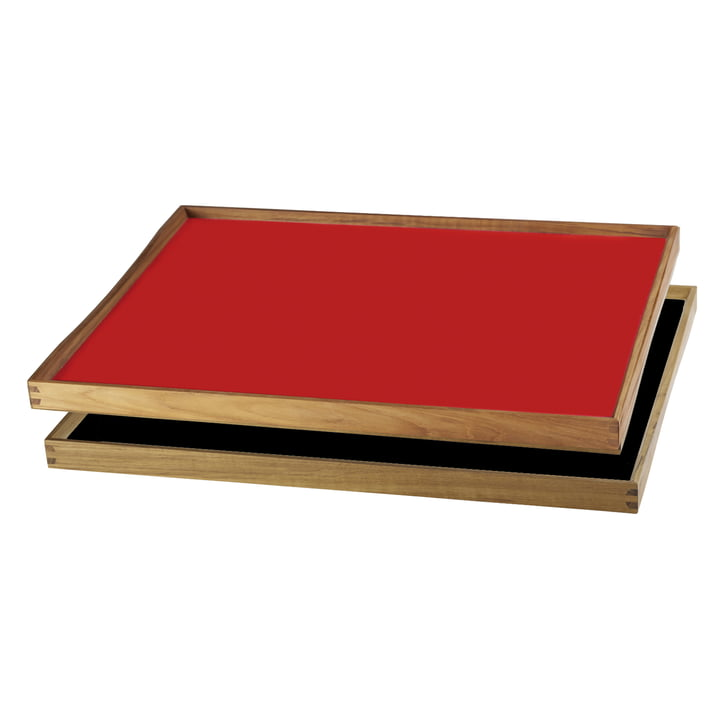ArchitectMade - Tablett Turning Tray, 38 x 51, red