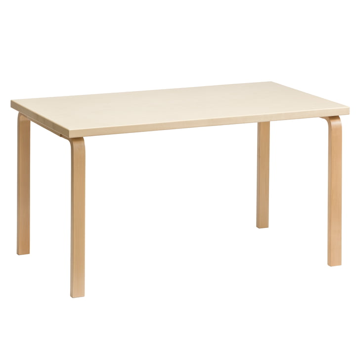 81A table by Artek in birch veneer
