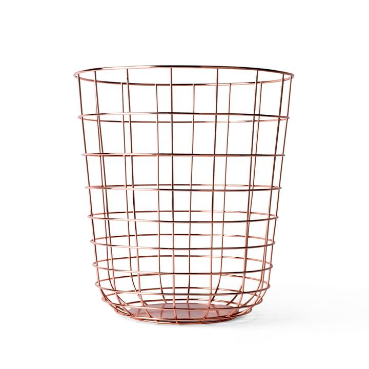 Menu - Wire Bin, Copper
