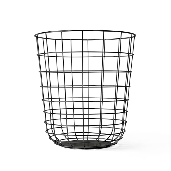 Menu - Wire Bin, black