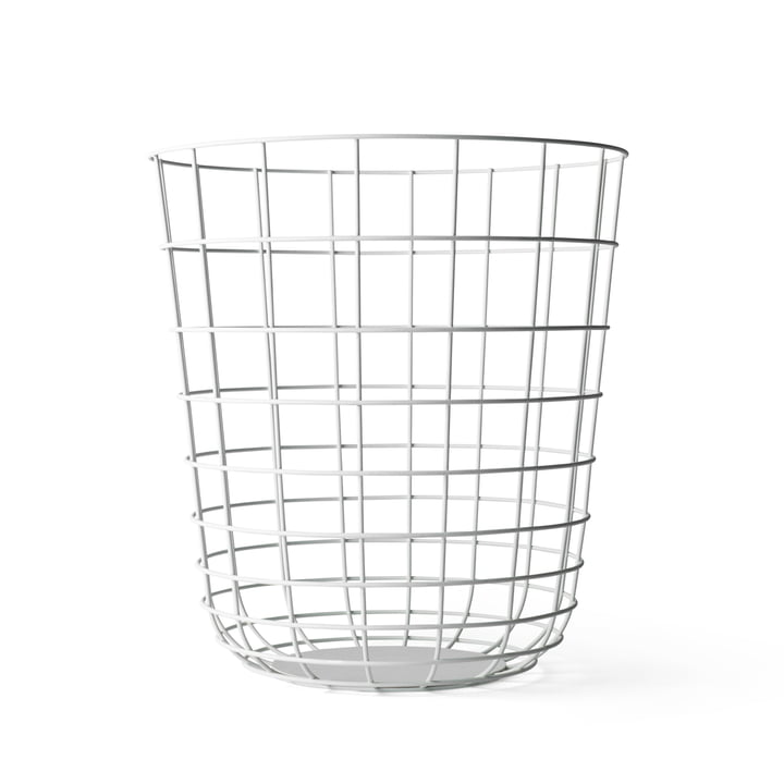 Menu - Wire Bin, white