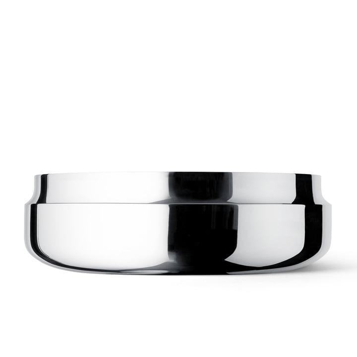 GamFratesi bowl from Menu in stainless steel