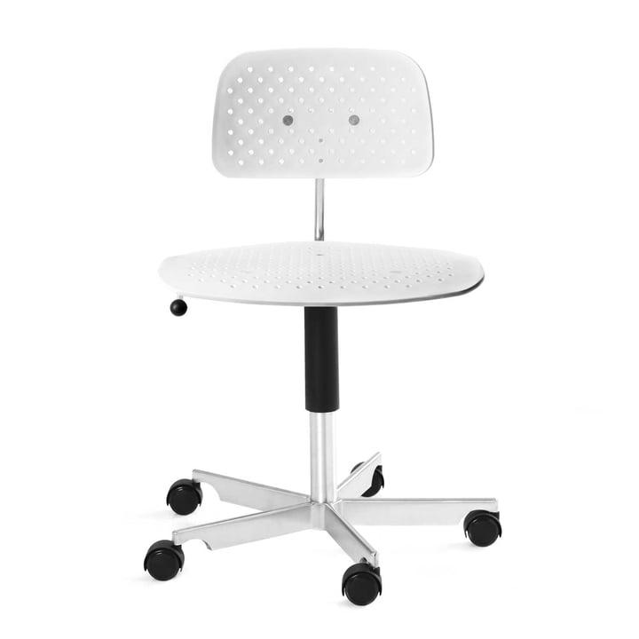 Engelbrechts - Kevi Air Swivel Chair, white