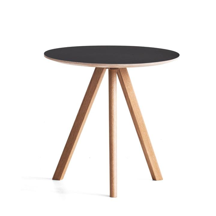 Hay - Copenhague CPH20 Side Table Ø 50 cm, black