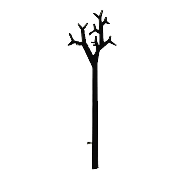 Swedese Tree wall mounted clothes stand - 194 cm, black