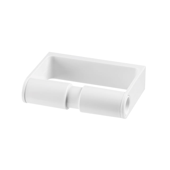 Authentics - Lunar toilet paper holder, white