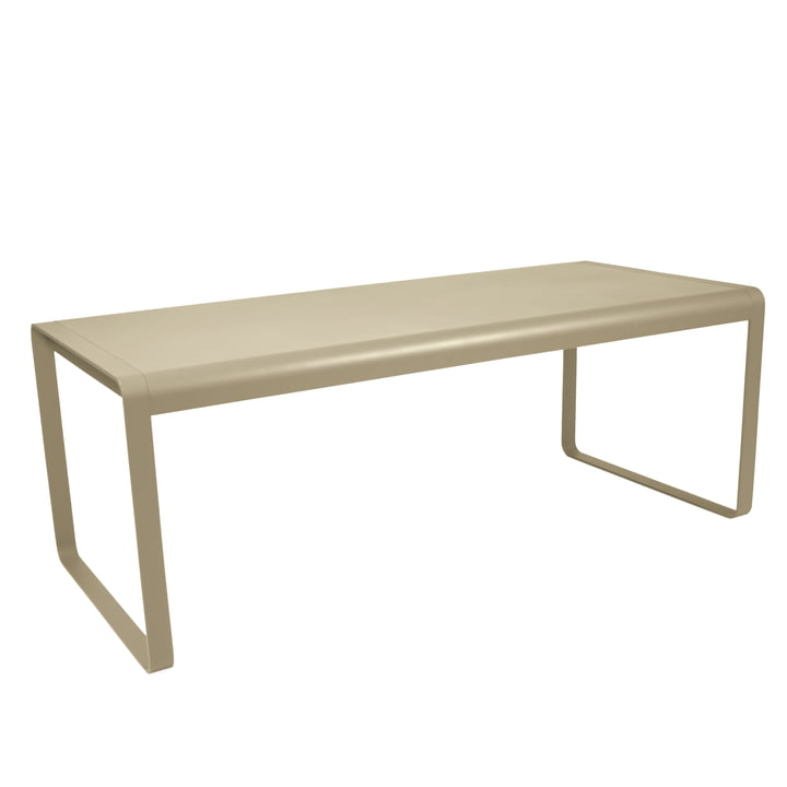 Bellevie Table from Fermob in nutmeg