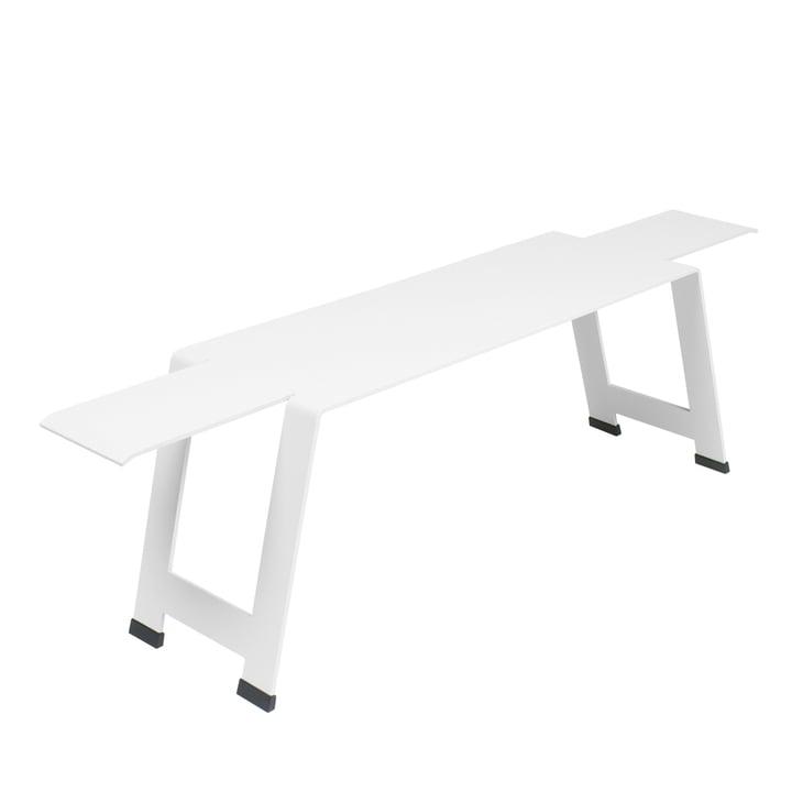 Fermob - Origami Bench, White