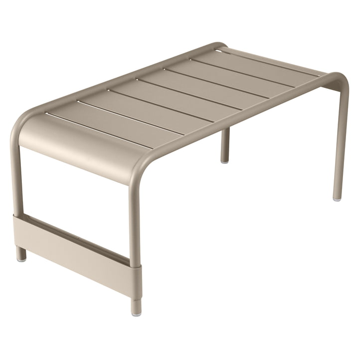 Fermob - Luxembourg Large low table / Garden bench, nutmeg