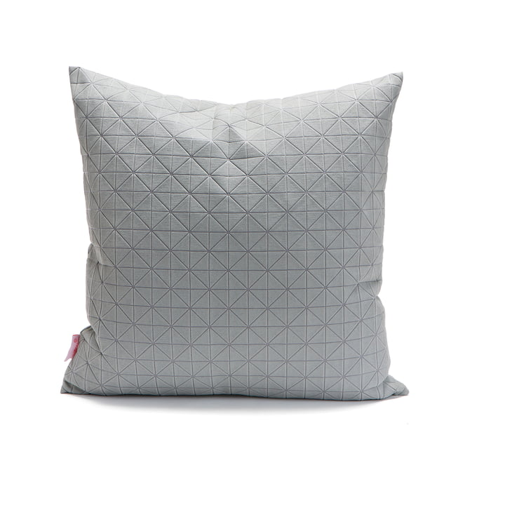 Mika Barr - Geo Origami cushion cover 50 x 50 cm, grey