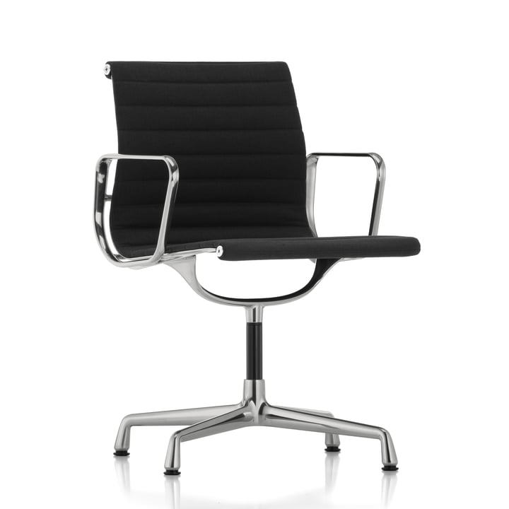 Vitra - EA 104 Office Chair polished, Hopsak, nero
