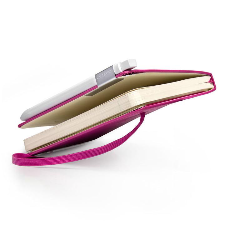 Moleskine - Klassik ballpen, white - at notebook