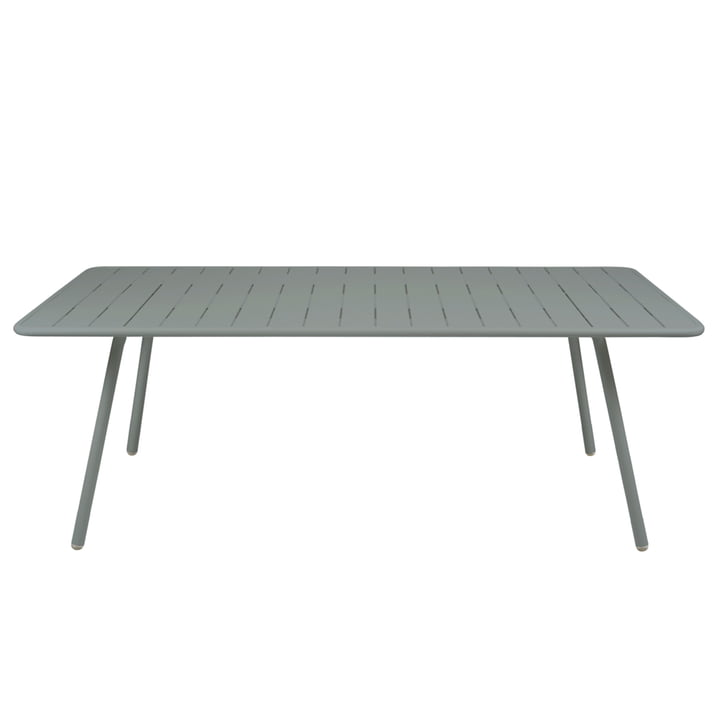 Fermob - Luxembourg Table, rectangular, 100 x 207cm, stormy grey