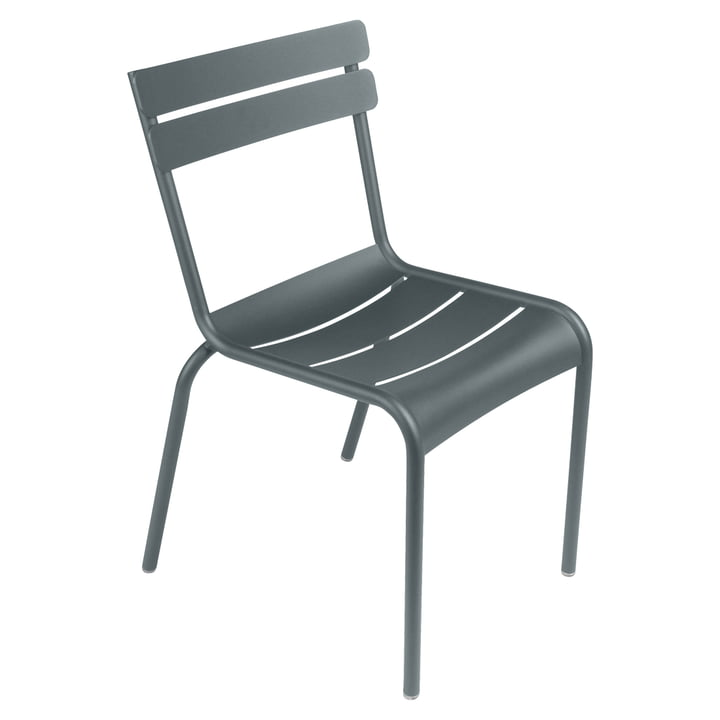 Fermob - Luxembourg Chair, stackable, stormy grey