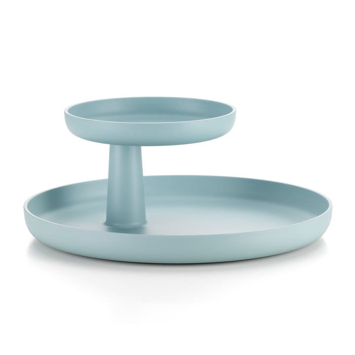 Rotary Tray by Vitra in ice grey