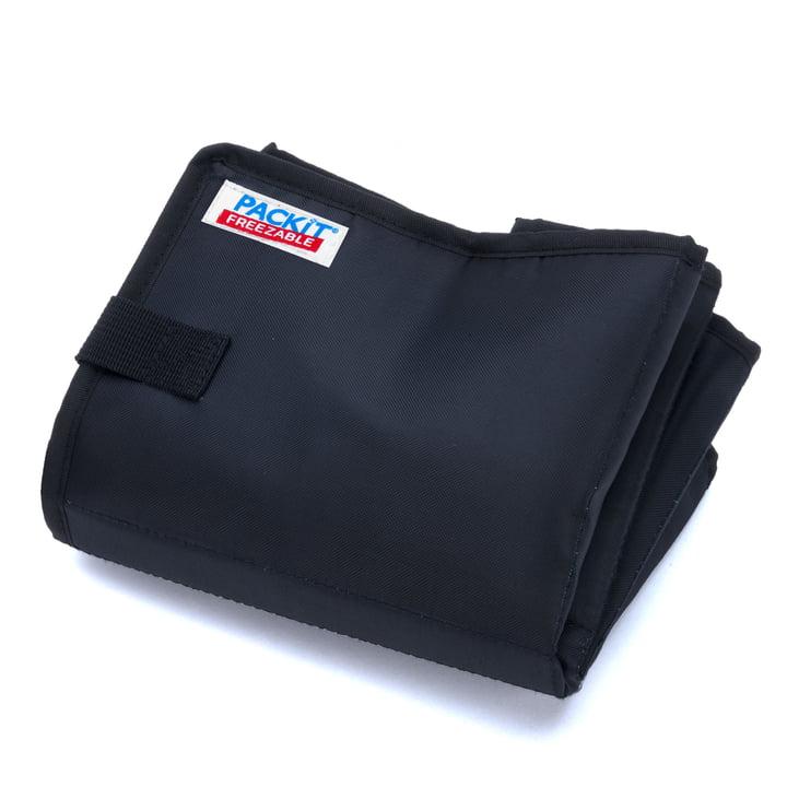 PackIt - Coll bag, black - folded