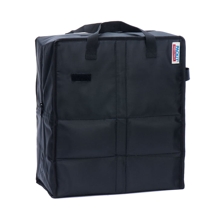 PackIt - Coll bag, black - inclined
