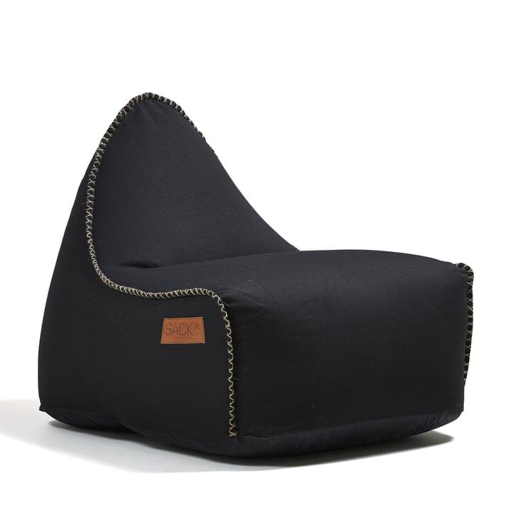 Sack it - Retro it Indoor Beanbag, black