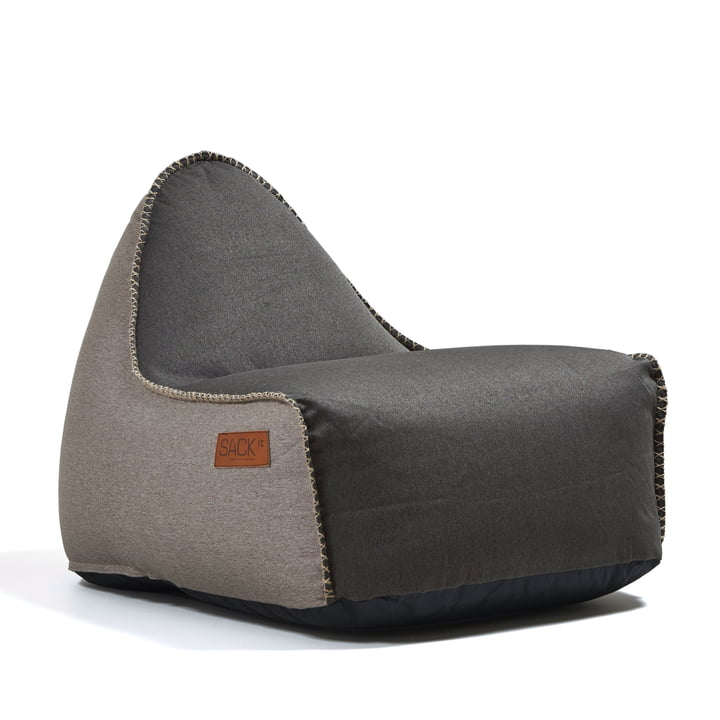 Sack it - Retro it Indoor beanbag, brown / sand