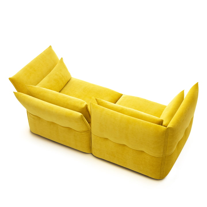 Vitra - Mariposa Couch, yellow